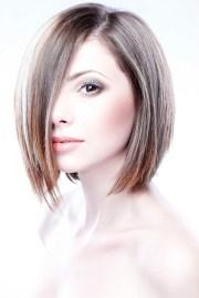 concave bob haircut style