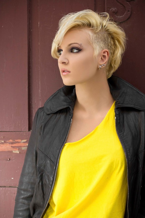 Short Hair Shaved Sides Hairstyles