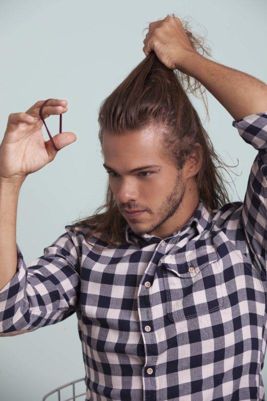 How To Tie Your Hair Man Bun Astar Tutorial