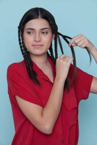 Crimped Hair with Braids: How to Create this Hairstyle in