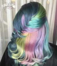 Bold Hair Colors from Crystal Casey of High Voltage Hair