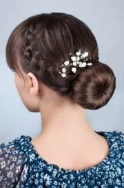 straight hair ideas weddings