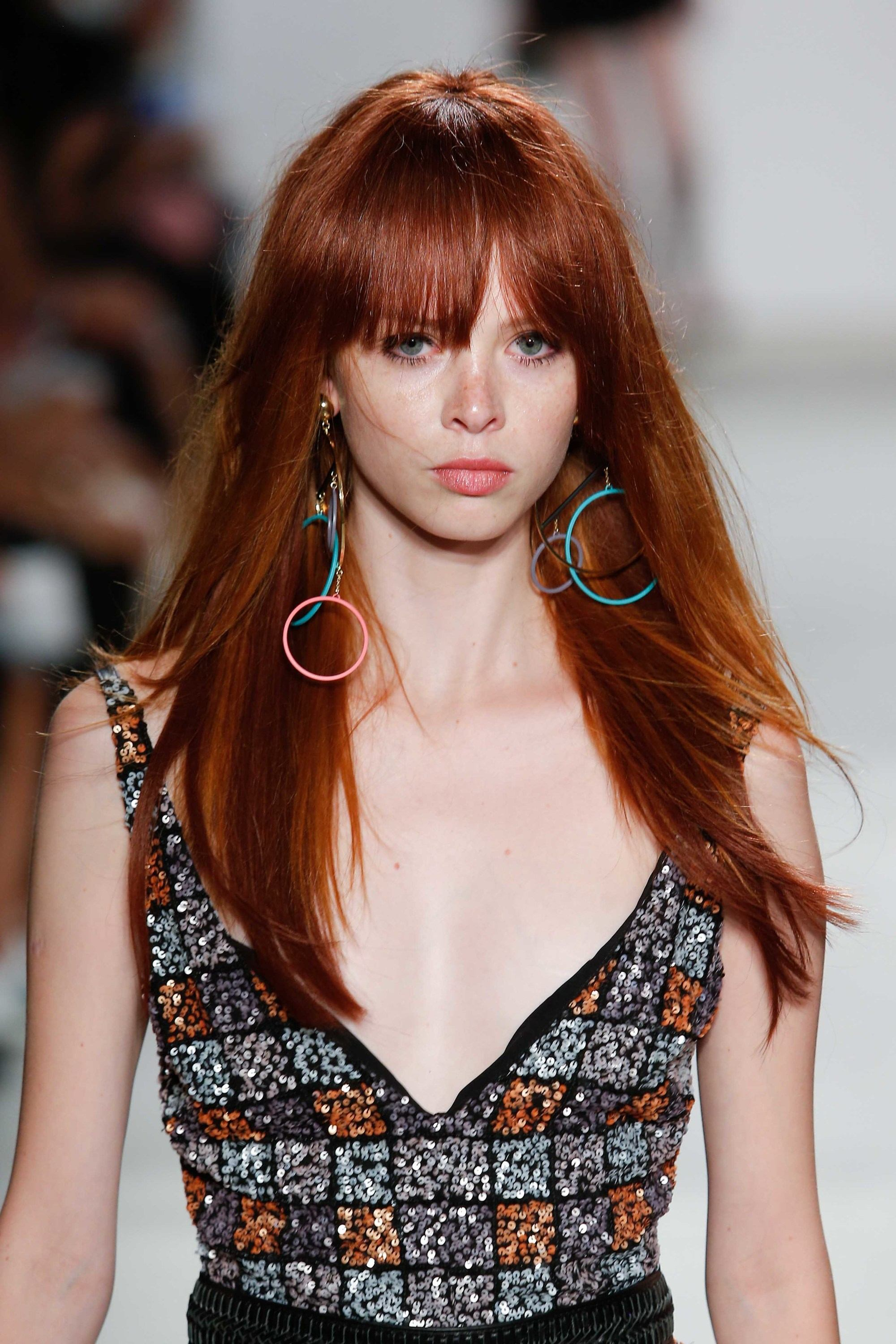 On Our Radar Red Hair with Bangs
