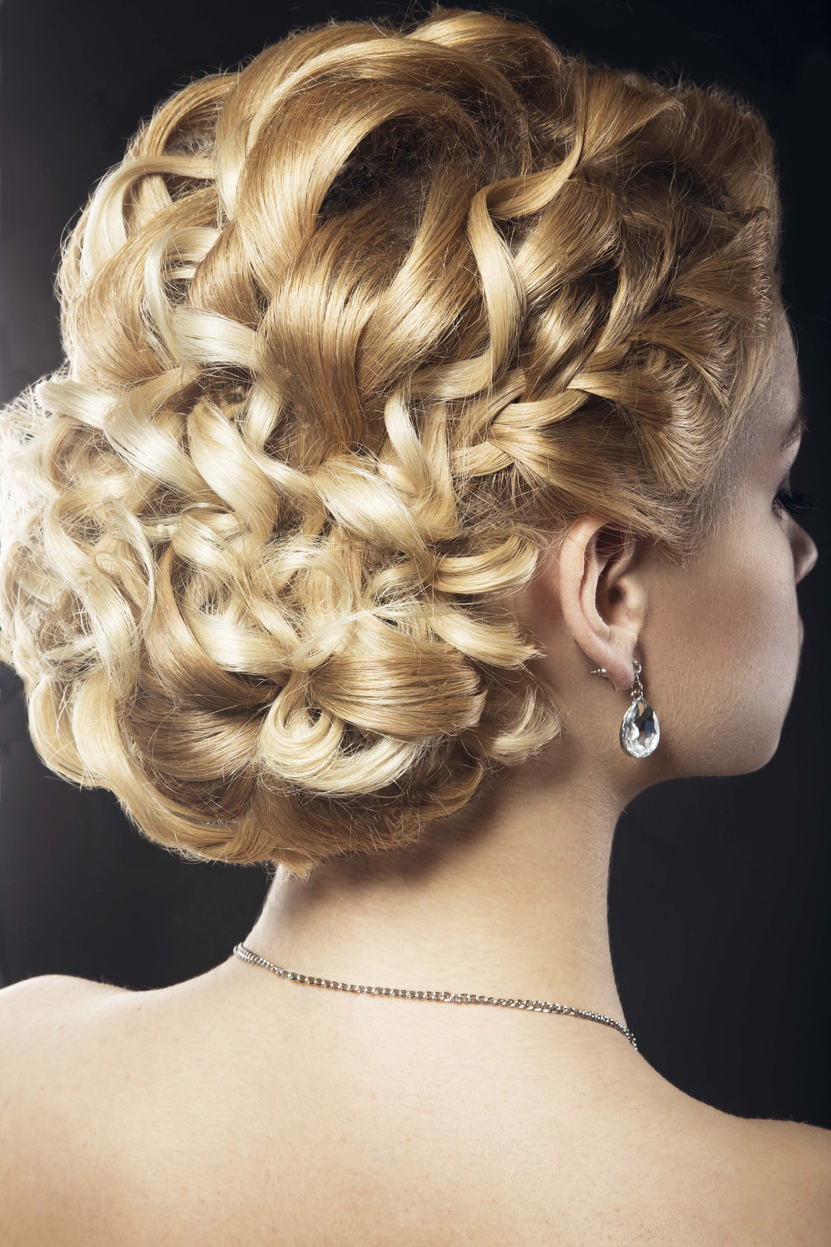 9 Spring Wedding Updos for Curly Hair