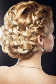 9 spring wedding updos curly