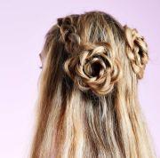 braided updos long hair