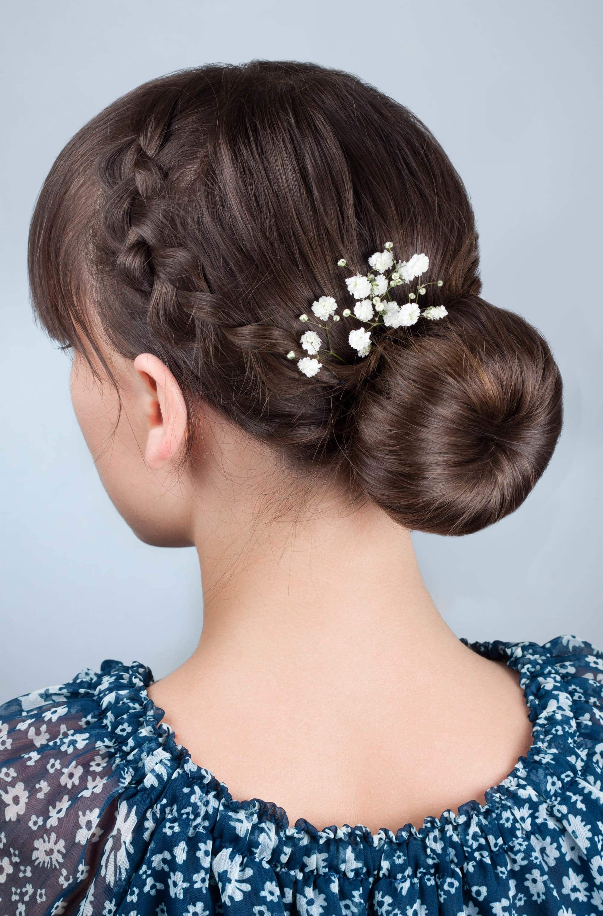 46 BRAIDED UPDOS FOR LONG HAIR FOR ALL PERSONALITIES