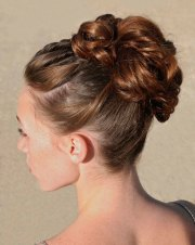 bridesmaid hairstyles and hair
