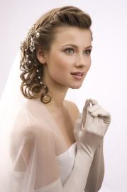 vintage wedding hairstyles inspire