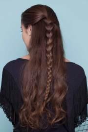 easy braids long hair 20