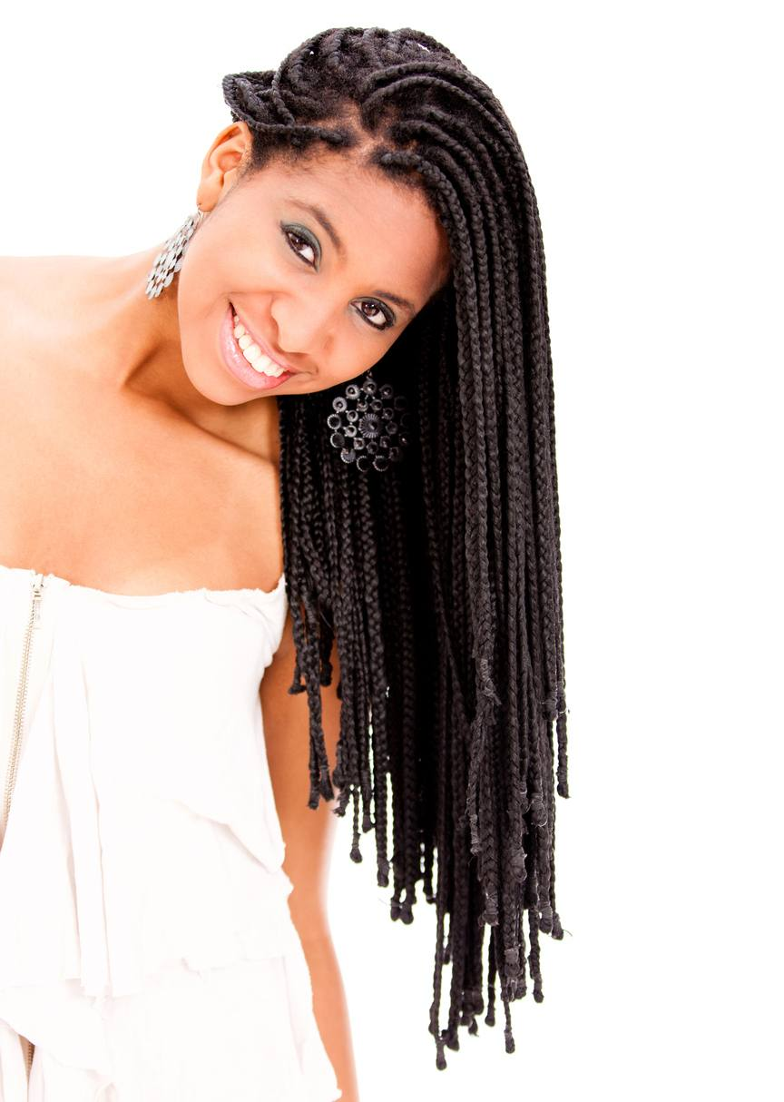 Single Box Braids 24 Stylish Ways to Wear This Protective Style