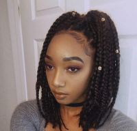 Short Medium Box Braids - Best Short Hair Styles