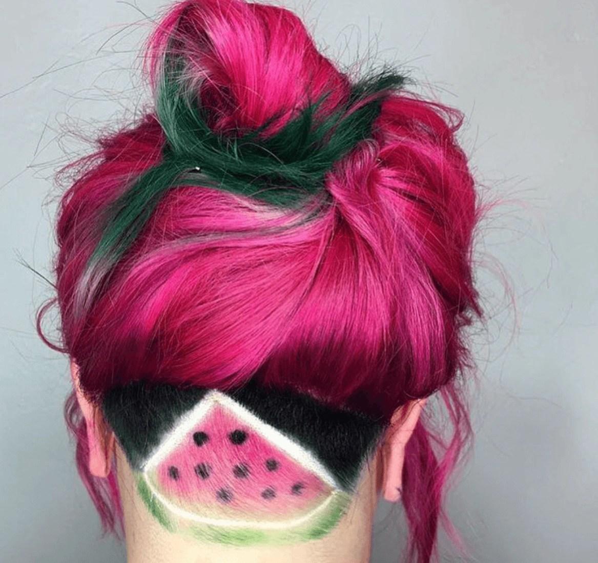 Watermelon Hair The Latest Food Inspired Hair Color Craze