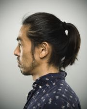 man ponytail 10 cool and easy