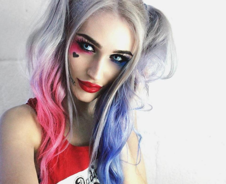 Harley Quinn Hairstyle Suicide Squad Inspired Recreations On