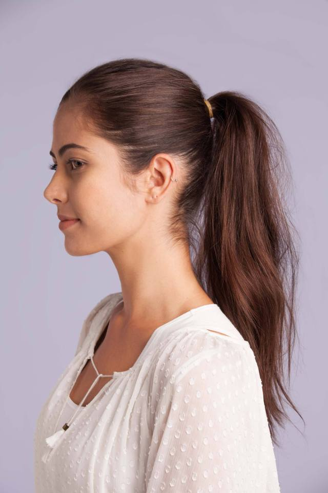 How to give hair volume  The ponytail  trick