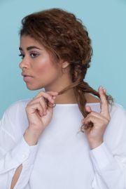 3 easy hairstyles curly hair