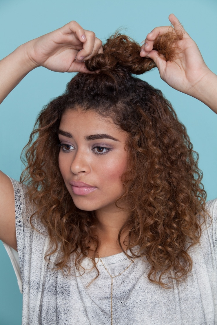 3 Easy hairstyles for curly hair perfect for backtoschool