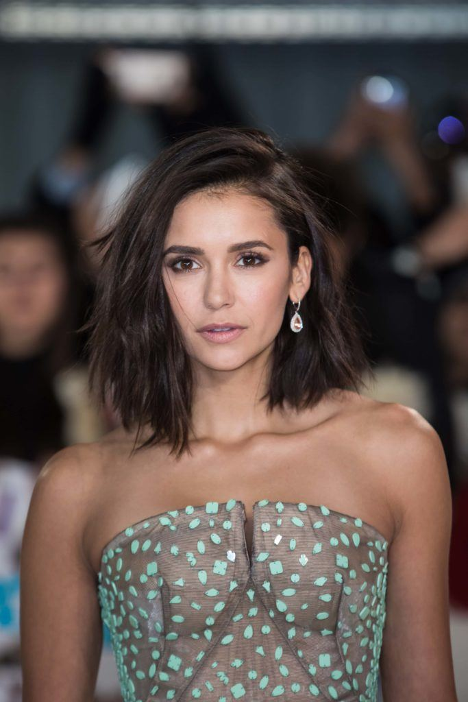 Nina Dobrev cut her hair into a lob and were lowkey obsessed