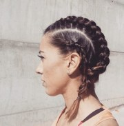 sporty hairstyles short hair