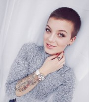8 shaved hairstyles women