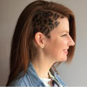 leopard print hair latest