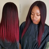 Hairstyles For Straight Crochet Braids | Hair
