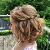 10 short hair wedding updos that'll take you breath away