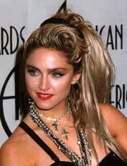 madonna's memorable hairstyles