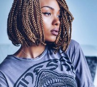 12 box braids bob hairstyles to try out this season | All ...