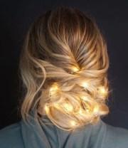 xmas hair trend people turning