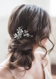 bridal hairstyle wedding