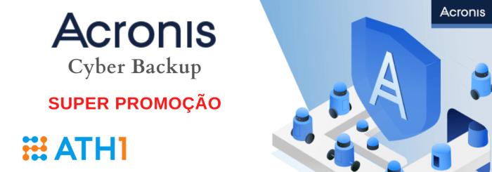 promoção Acronis