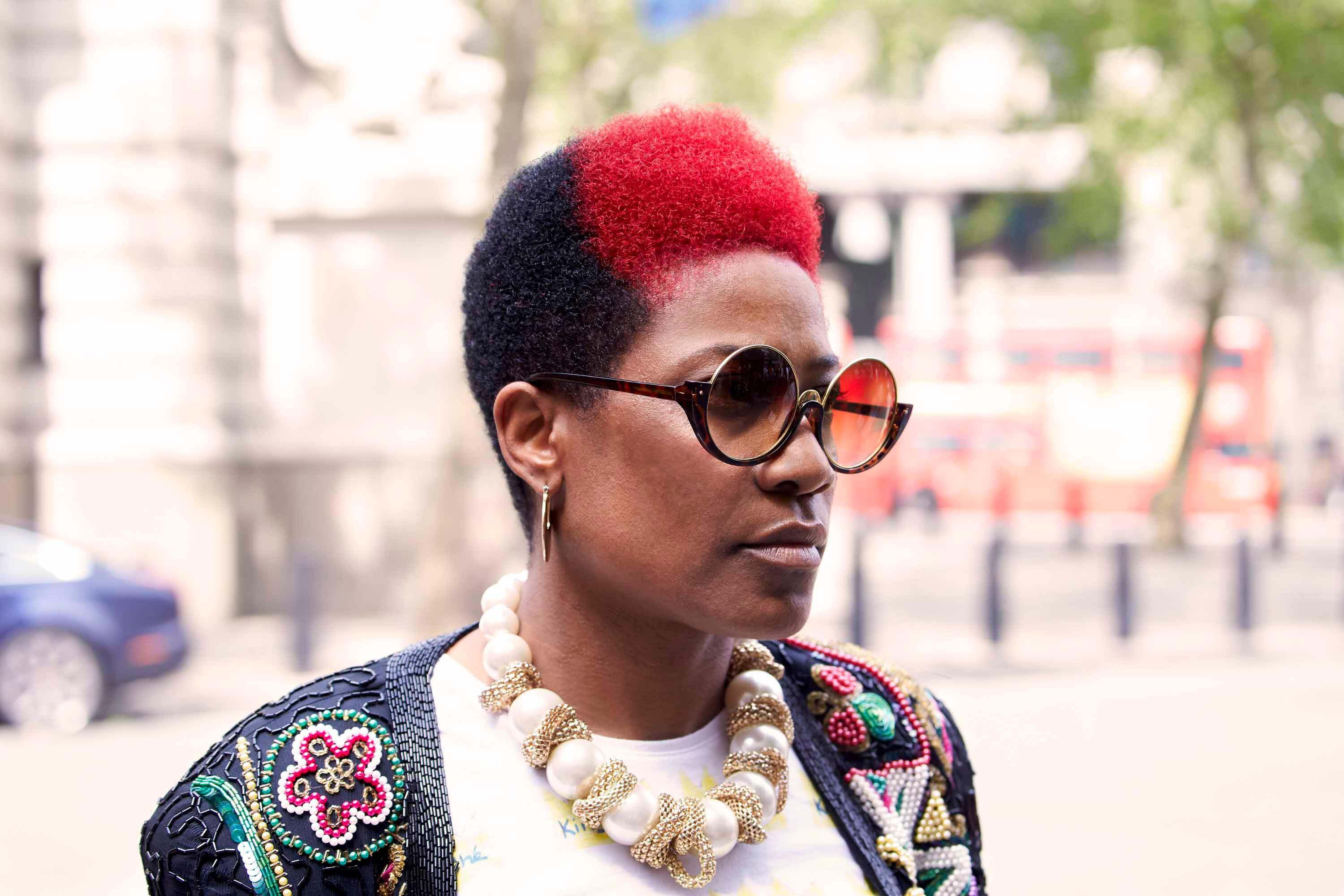 7 Colorful Cute Natural Hairstyles To Try In 2019