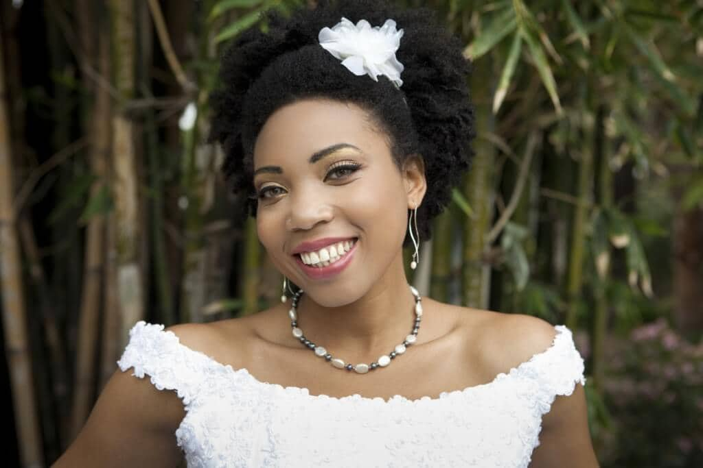 9 Chic Wedding Hairstyles For Natural Hair