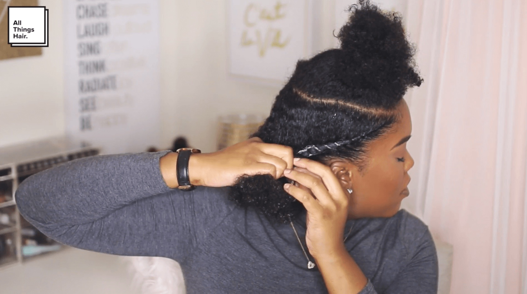 Style It On Party Hair With Mini Marley