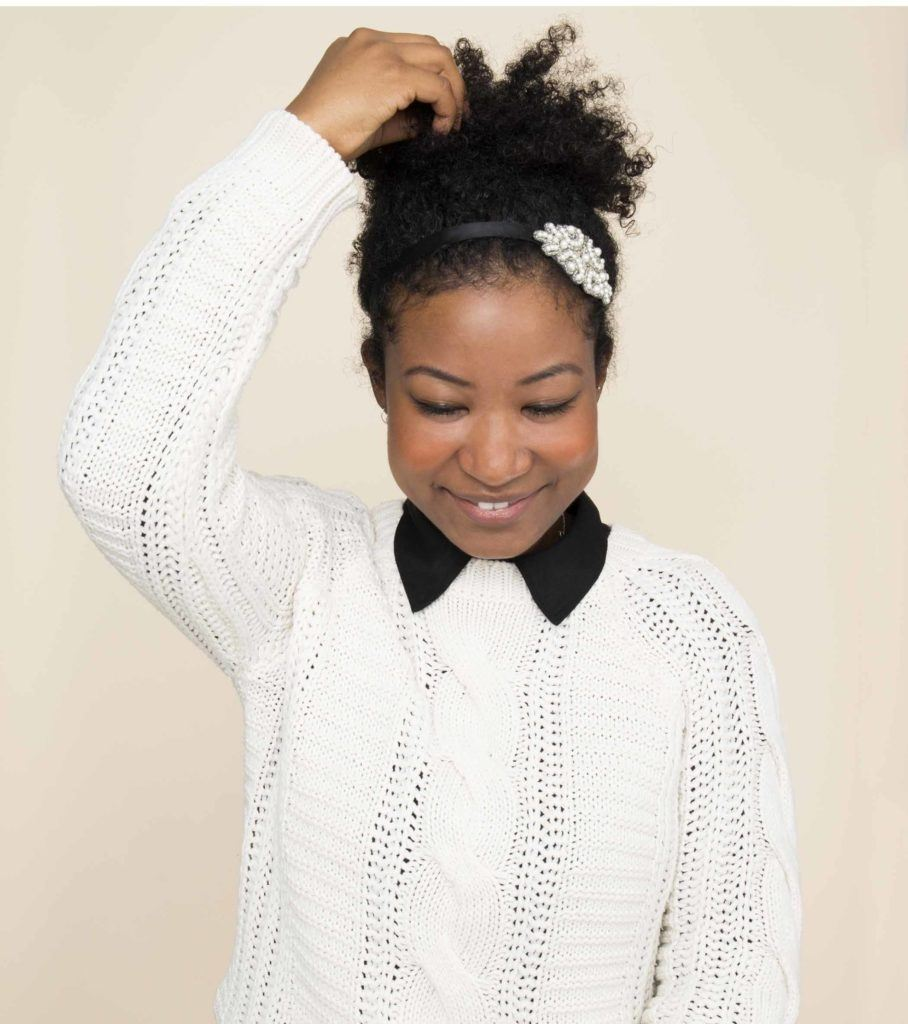 Thick Hair Ponytail Ideas For Valentine S Day All Things Hair