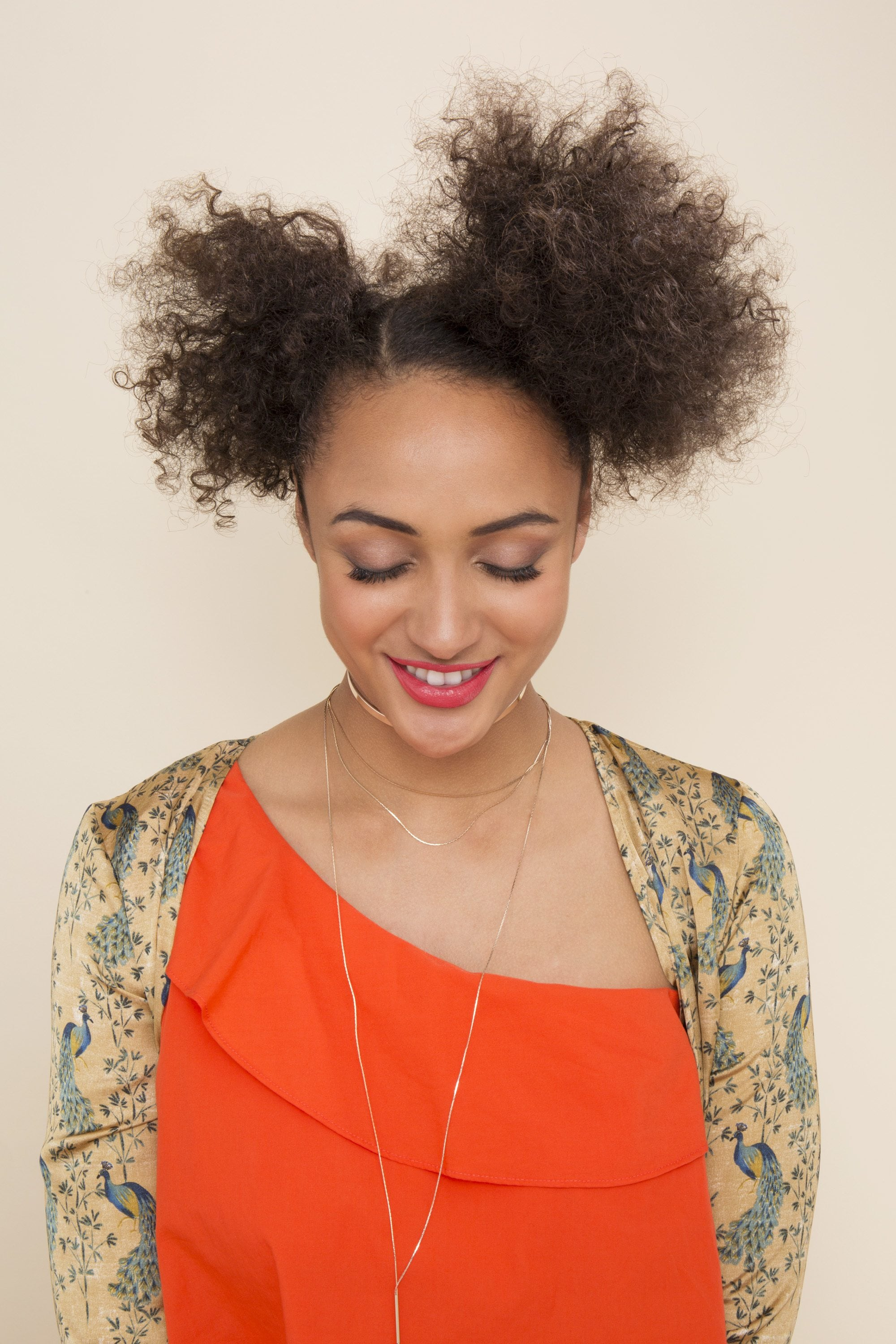 How To Create A Space Puff Hairstyle On Natural Hair