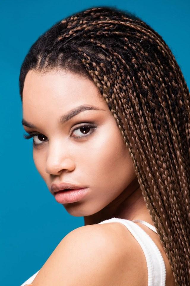 micro braid hairstyles: 16 ridiculously cute micro braid