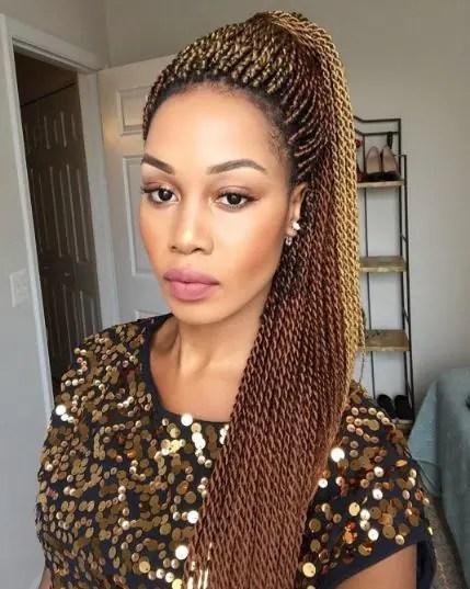 Senegalese Twist Styles Ways To Work This Natural Hair Look