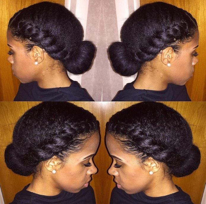 Two Low Buns Natural Hair | Find your Perfect Hair Style