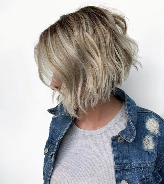 20 hot graduated bob styles for women of all ages   all