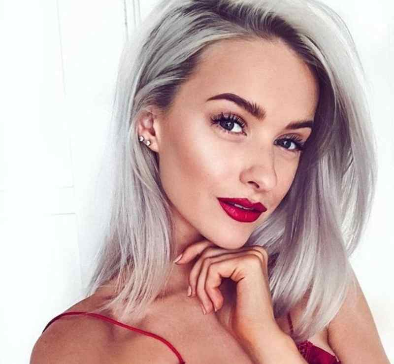 24 Best Silver Blonde Hair Colours To