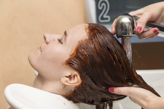 Washing colored hair -Monsoon