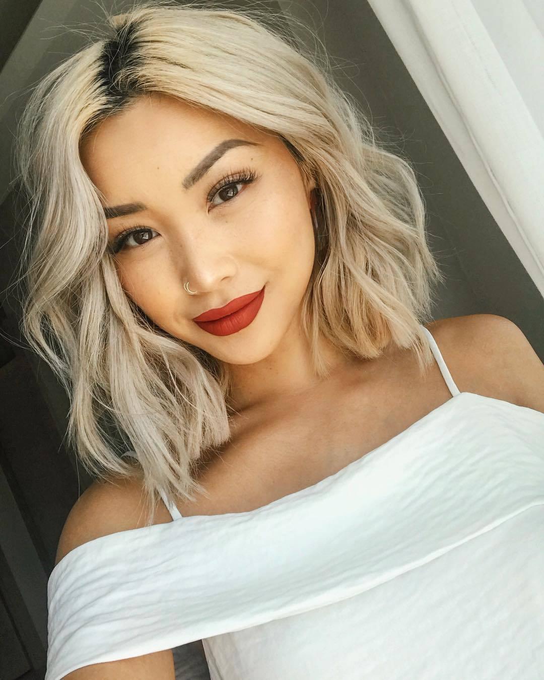 Asian Long Bob : asian, Trending, Asian, Hairstyles, Women, (2020, Guide)