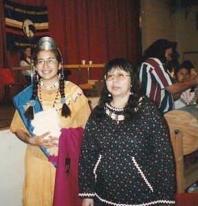 My mother, Eleanor Yatlin, and I