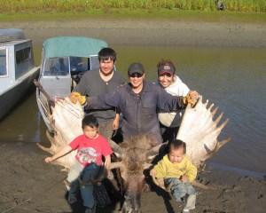 Hildebrand family in Nulato