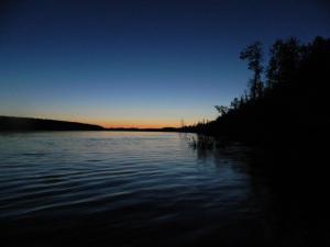 The Koyukuk River in the evening. Photo by Angela Gonzalez