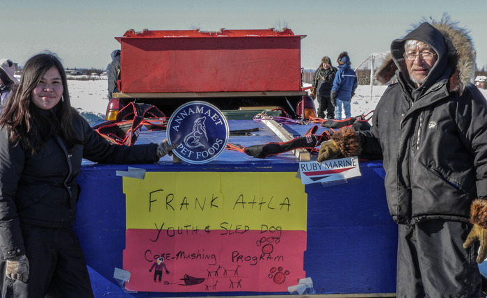 Frank Attla Youth and Sled Dog Care Program. Courtesy photo by Stacia Backensto