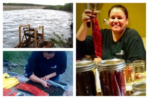 Jessica Edwin grew up living a subsistence lifestyle on the Copper River, and gets back when she can. She is catches, cuts, smokes and cans Copper River red salmon. Courtesy photos